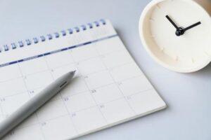 日程調整など事務的作業